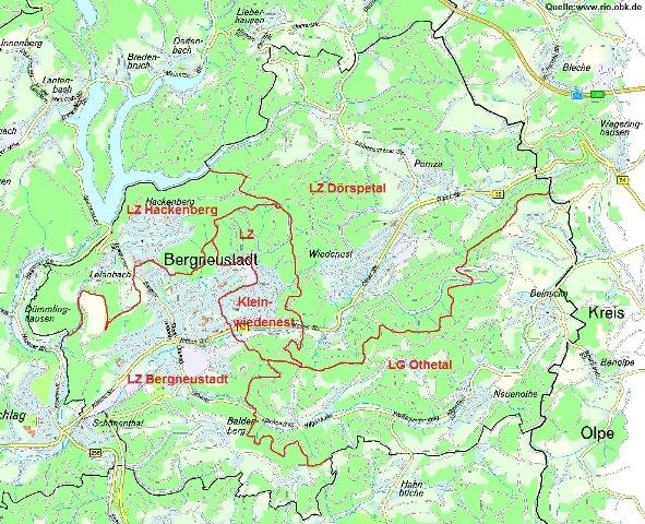 Gw Einsatzgebiete Karte